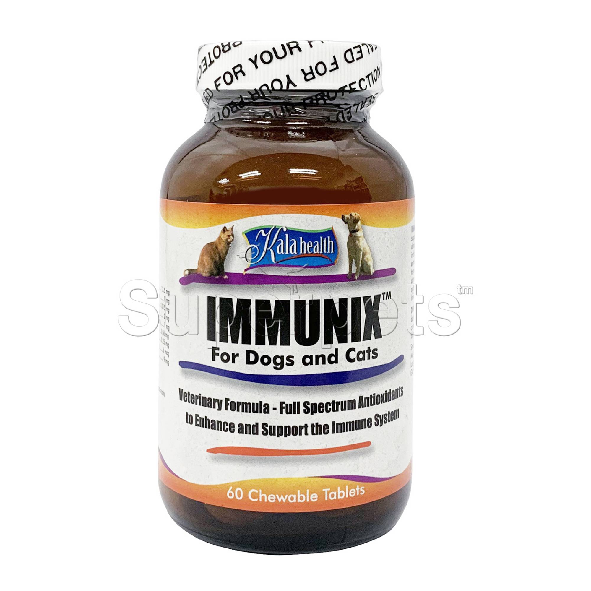 Kala Health - Immunix for Dogs and Cats 60 Tablets