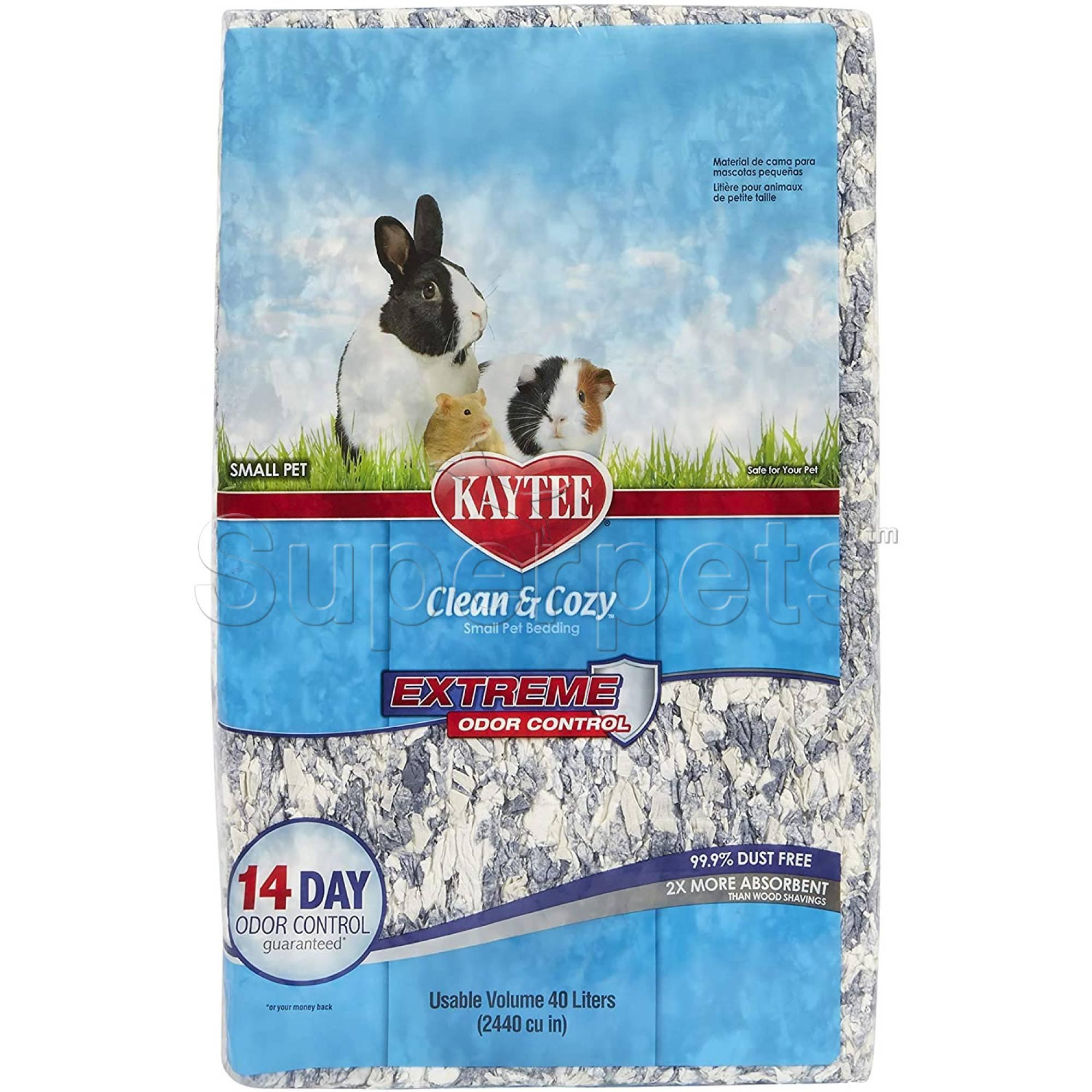 Kaytee Clean & Cozy - Extreme Odor Control Bedding 40L (2440cu)
