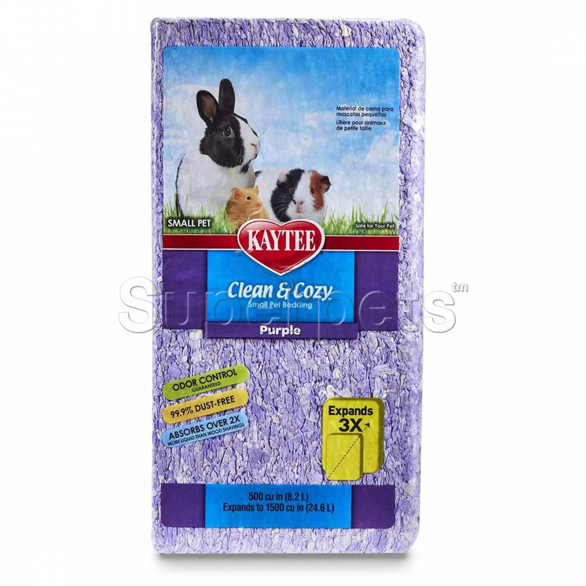 Kaytee Clean & Cozy - Purple Bedding 24.6L (1500cu)