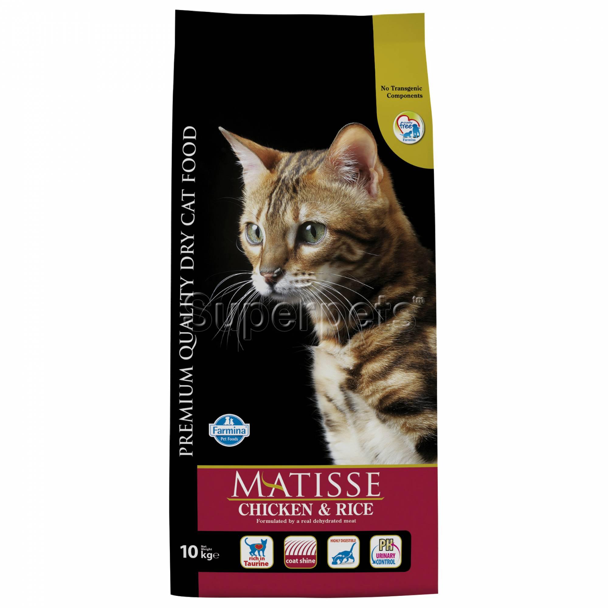 Matisse - Feline Adult - Chicken & Rice 10kg