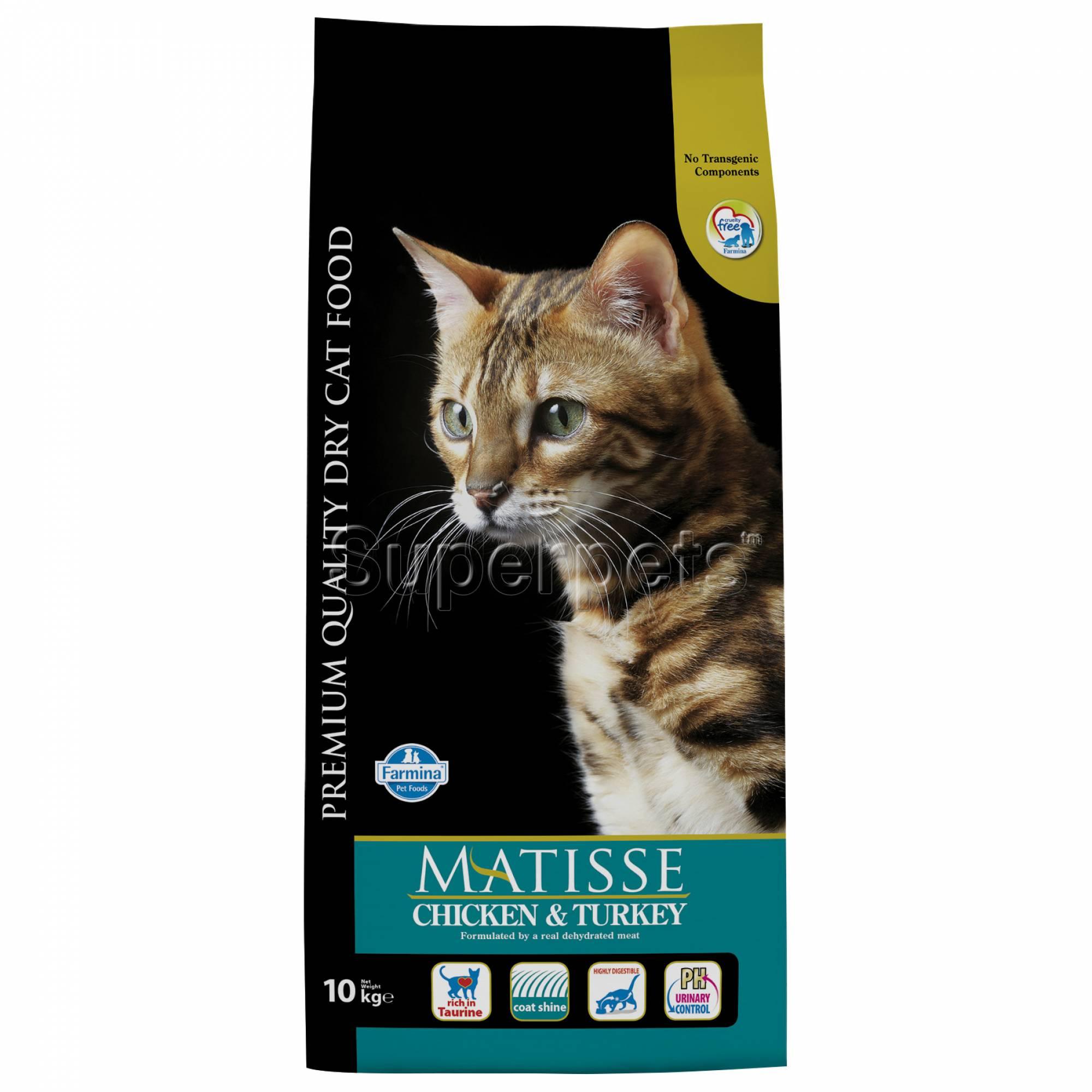 Matisse - Feline Adult - Chicken & Turkey 10kg
