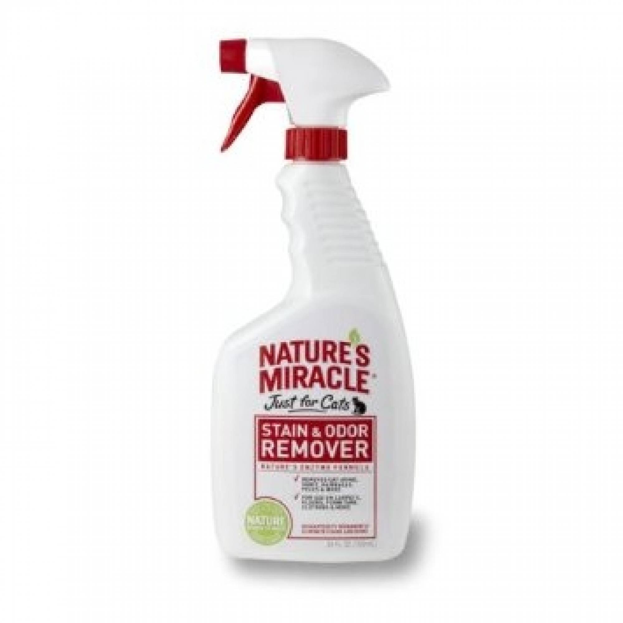 Natures Miracle Stain and Odour Remover Just for Cats spray 24oz