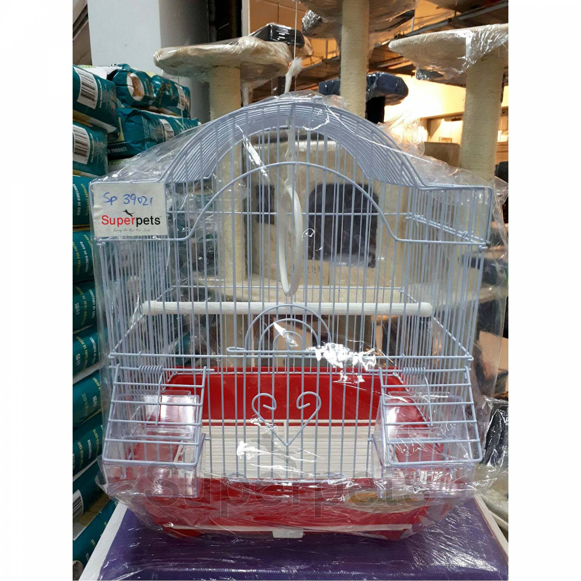 OPSP39021 Bird Cage - Red