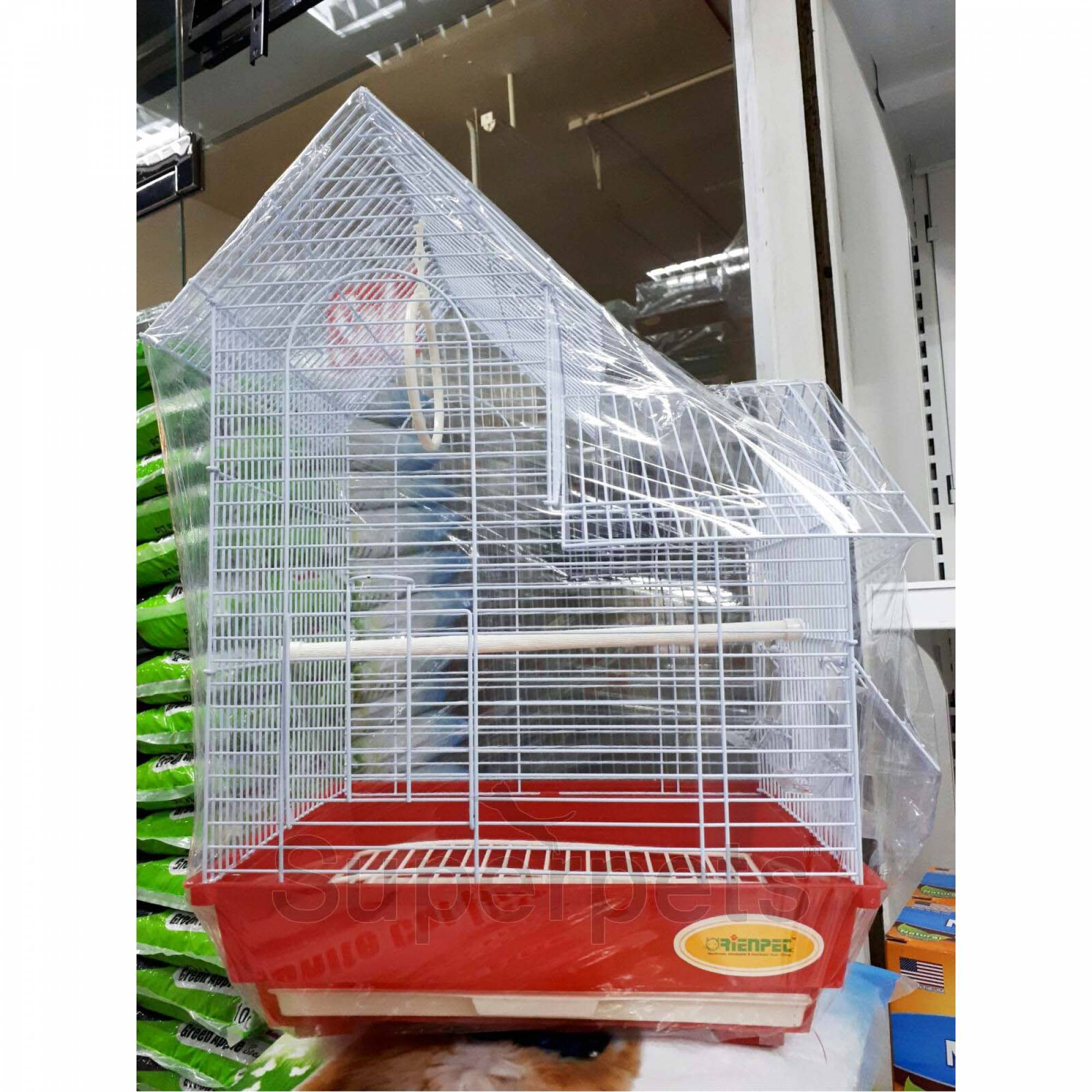 OPSP39033 Bird Cage - Red