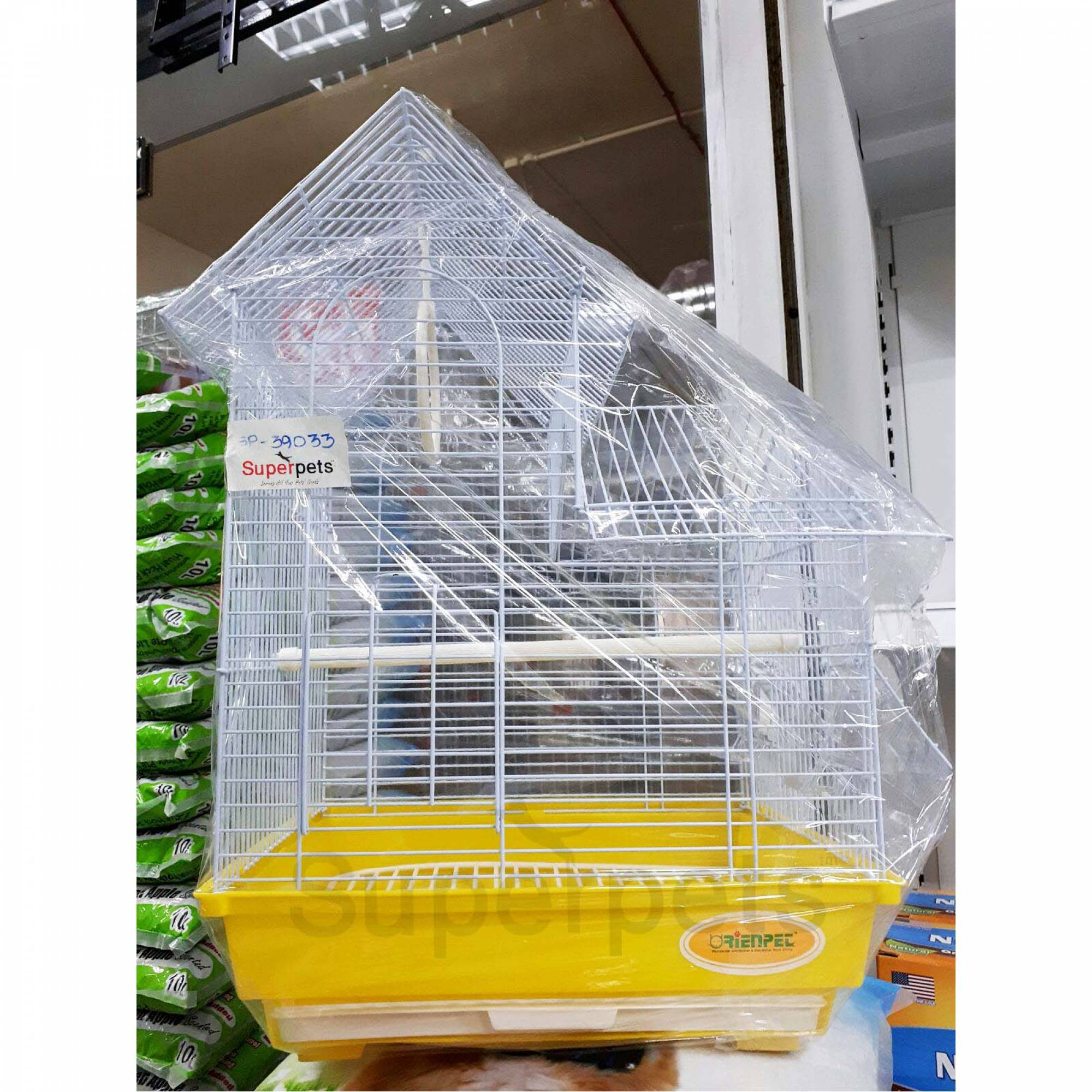 OPSP39033 Bird Cage - Yellow