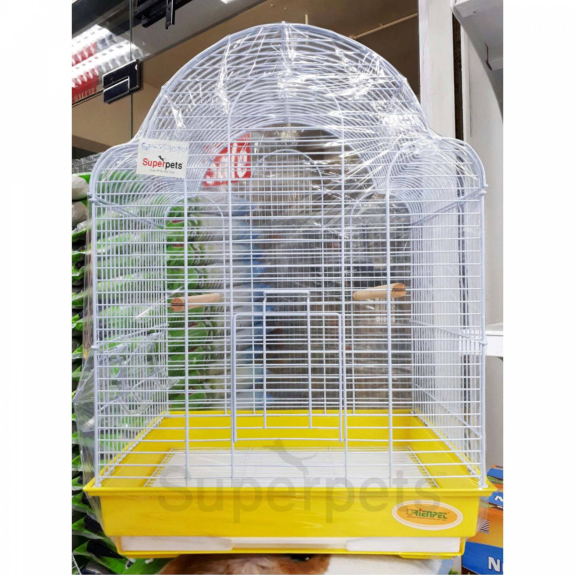 OPSP39070A Bird Cage - Yellow
