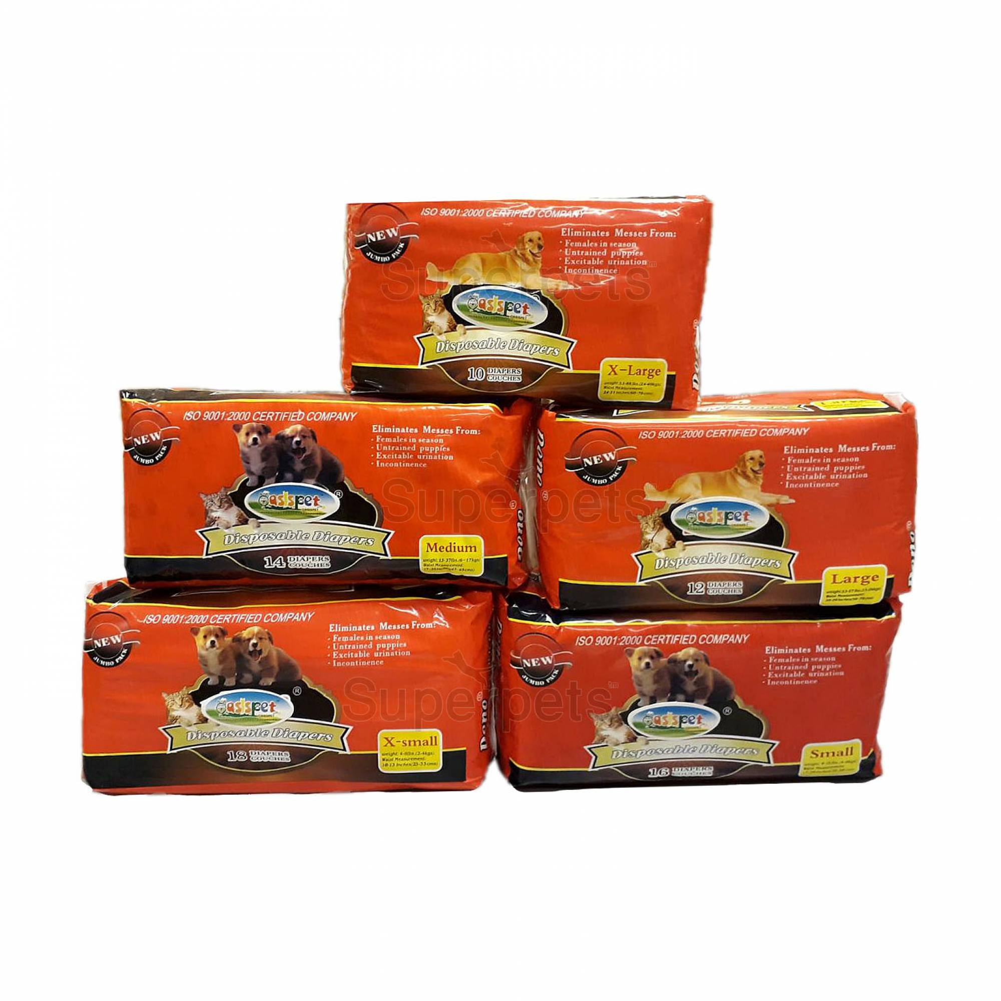 OPSP9981 - Pet Diapers - Large