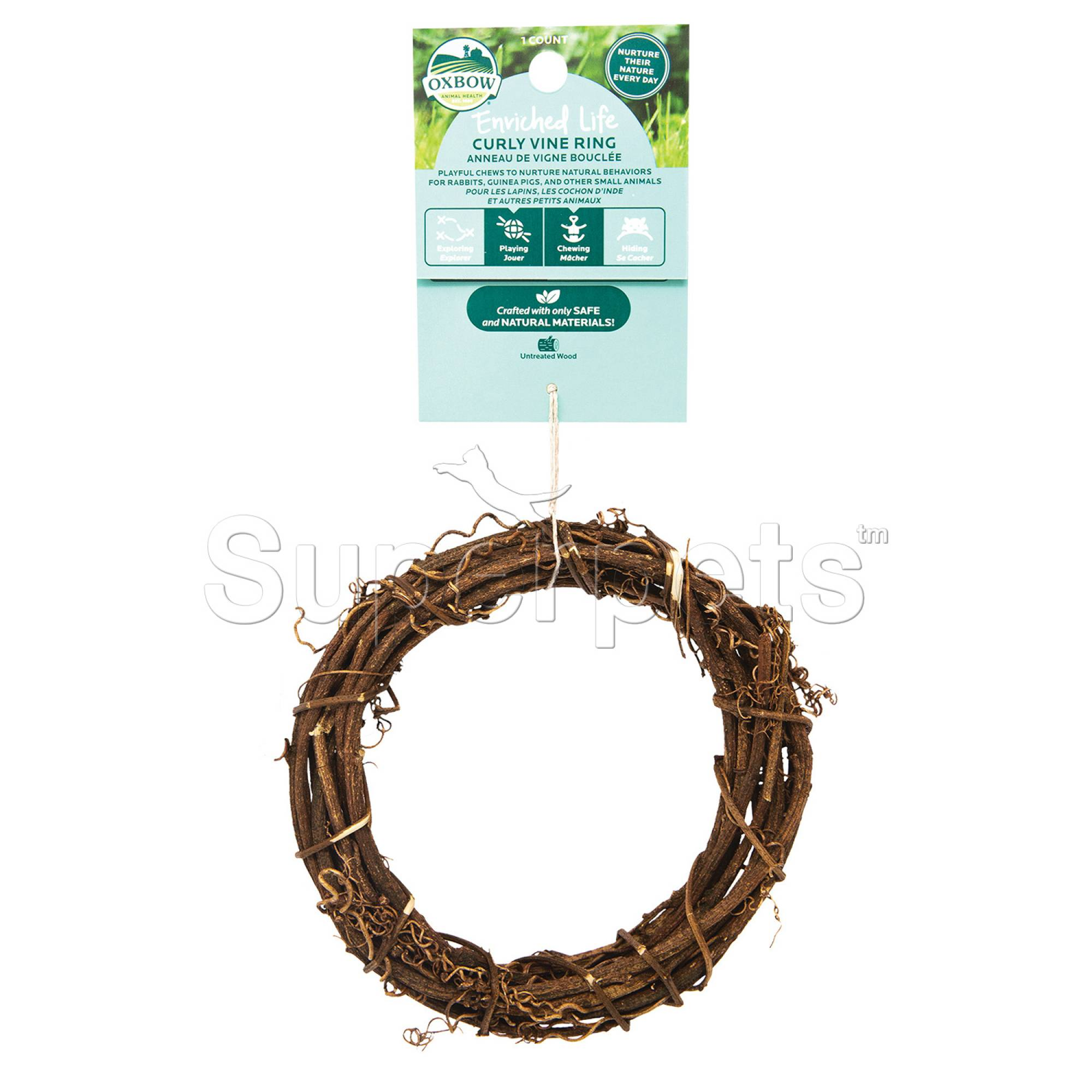 Oxbow Enriched Life Curly Vine Ring