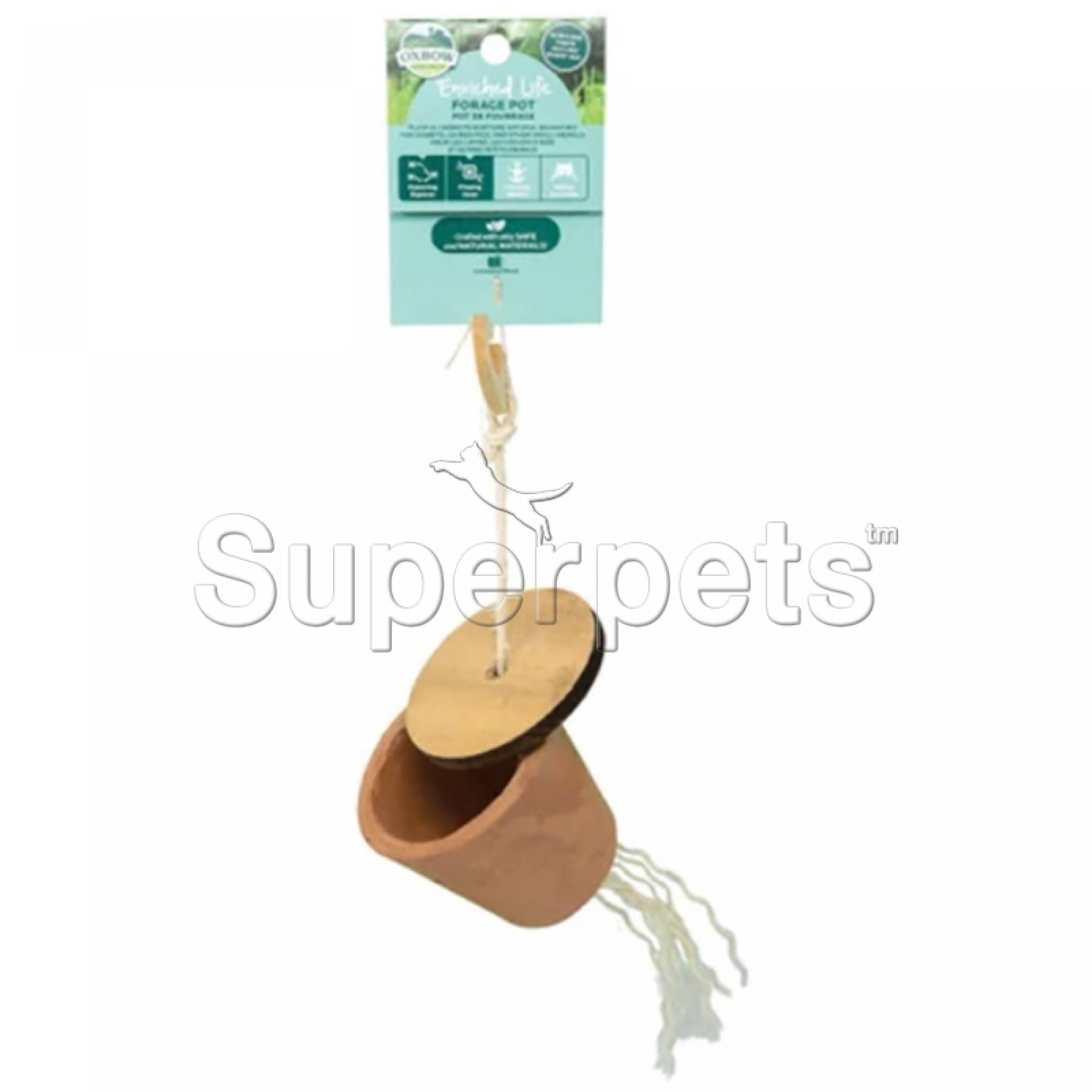 Oxbow Enriched Life Forage Pot