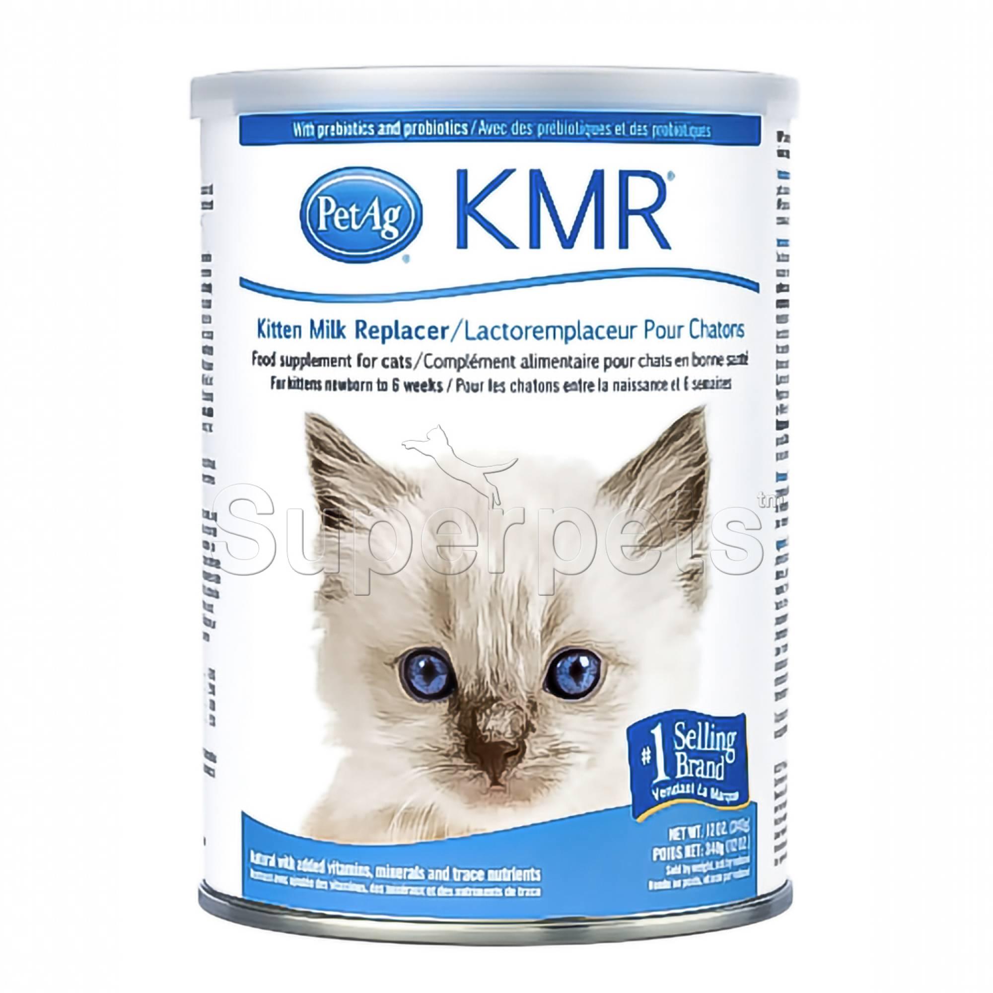 PetAg KMR Kitten Milk Replacer Powder 12oz (340g)