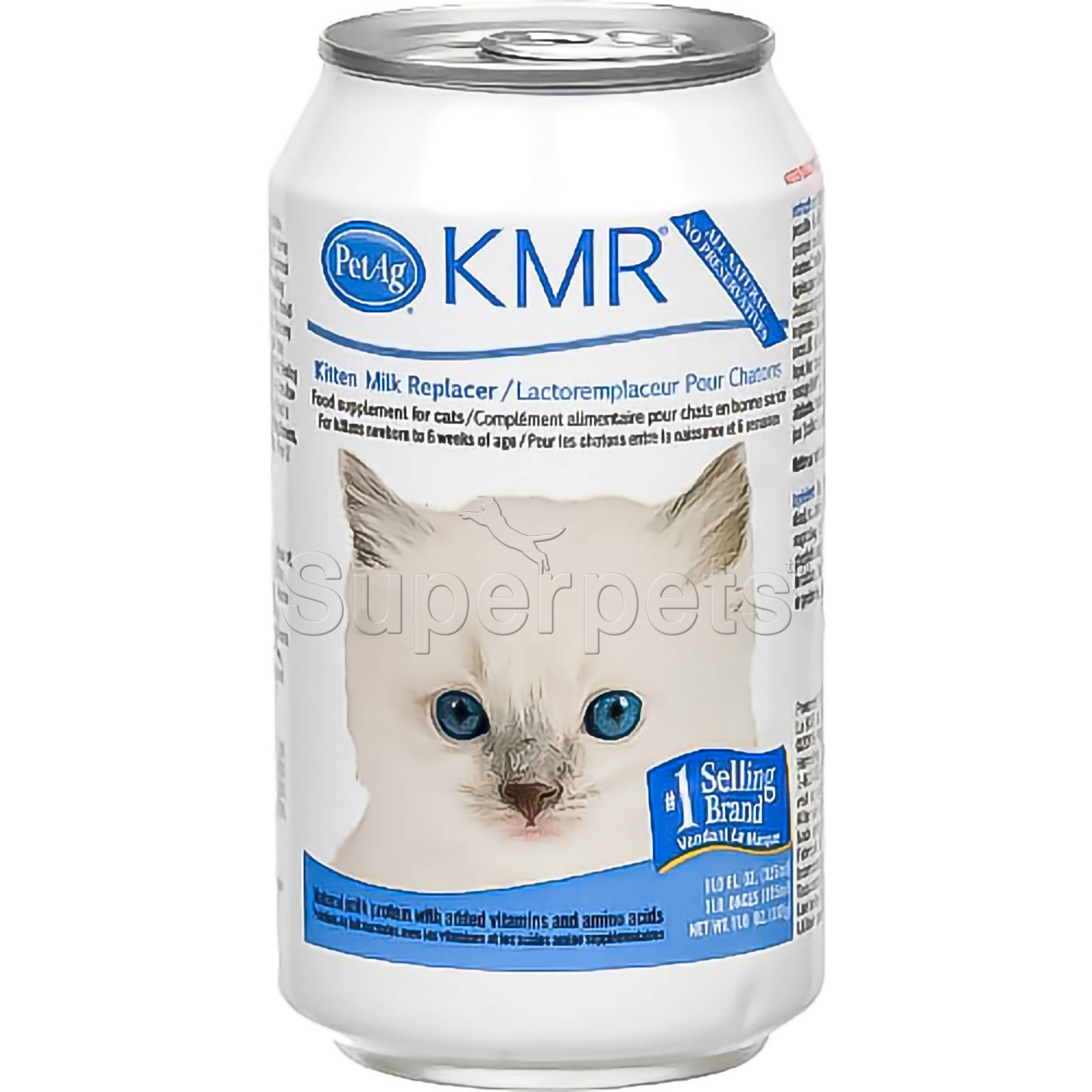 PetAg KMR Kitten Milk Replacer Liquid 11oz (325ml)