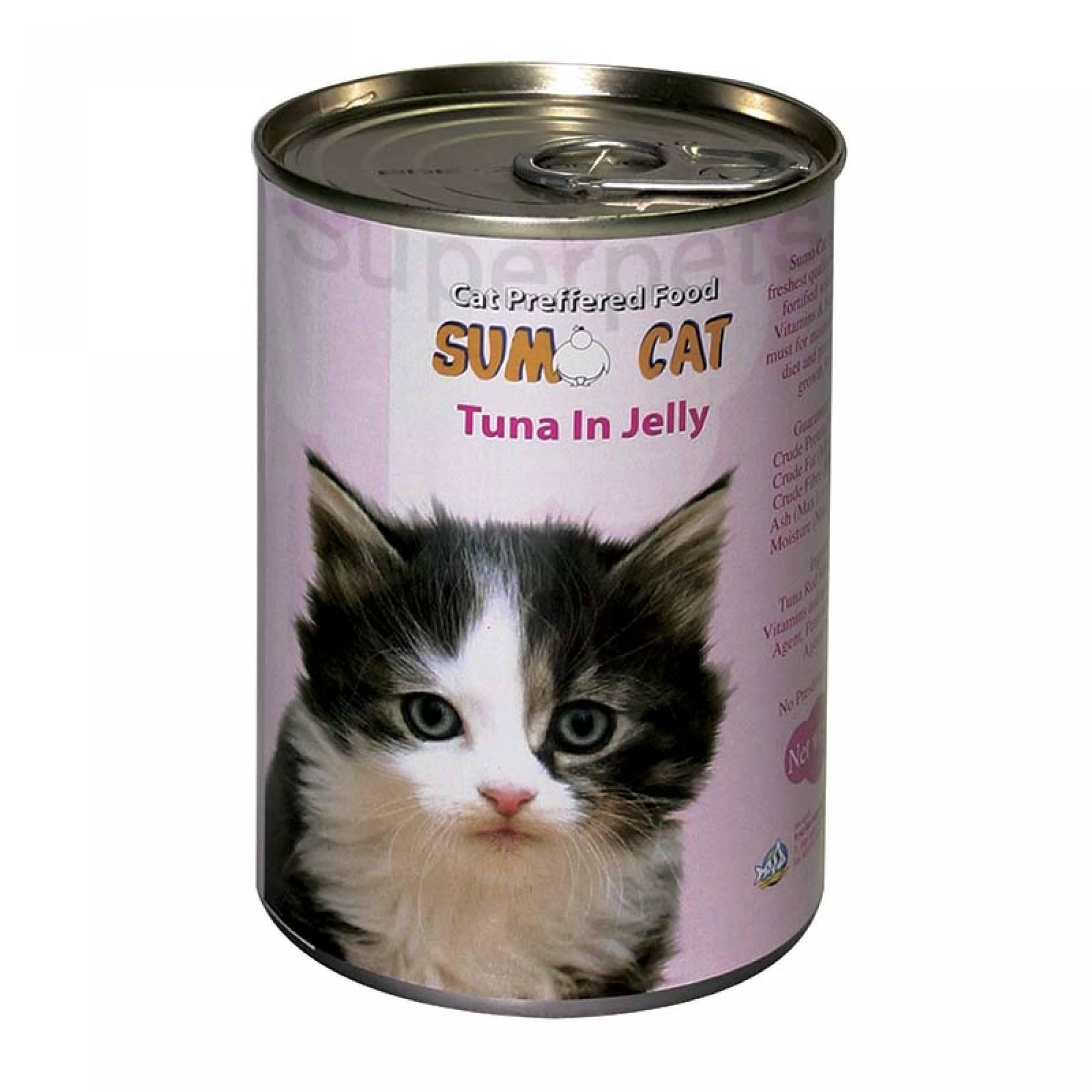 Sumo Cat - Tuna in Jelly 400g x 24pcs (1 carton)