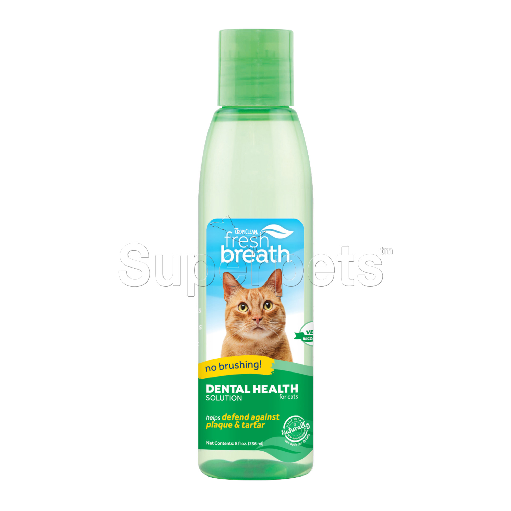 Tropiclean Water Additive for Cats 8oz (236ml)