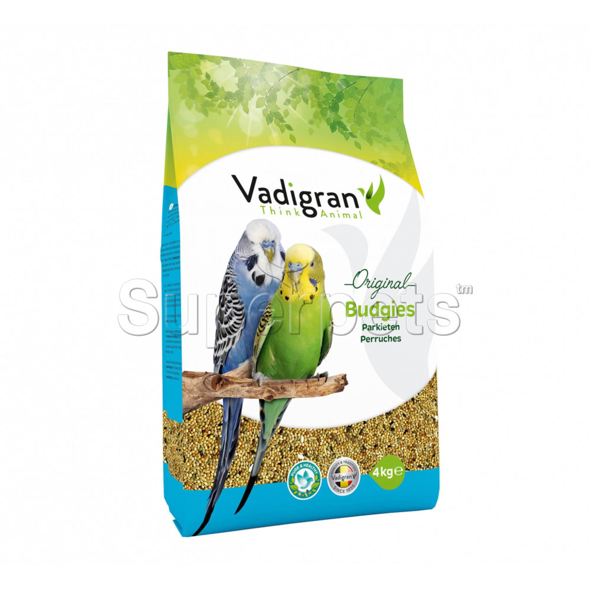 Vadigran Original Budgies 4kg